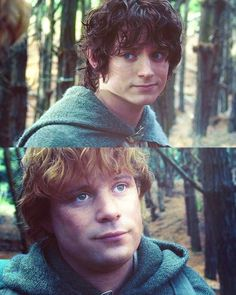 """""""You've forgotten one of the chief characters!  Samwise the Brave.  I want to hear more about Sam.""""  """"Now Mr. Frodo, it isn't right to joke.  I was being serious!""""  """"So was I."""""""