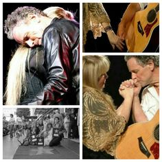 Stevie and Lindsey From Fleetwood Mac. Created by Tisha 12/14