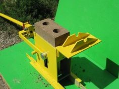 Compressed Earth Block Machines Compressed Earth Block Products Compressed Earth Block Machines Green Building, Building A House, Building Ideas, Quonset Hut, Building Concept, Passive House, Rammed Earth, Earth Homes, Homemade Tools