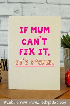 63 Trendy Ideas For Funny Love For Her Hilarious Mom Birthday Cards For Mum, Mom Birthday Gift, Funny Birthday Cards, Birthday Presents, Birthday Wishes, Happy Birthday, Funny Mothers Day, Mom Funny, Funny Stuff