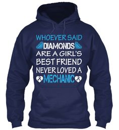 LOL VERY TRUE A DIAMOND SURE CAN'T FIX A CAR....THEN A DIAMOND WOULD BE MY BEST FRIEND!