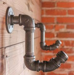 hooks made from metal pipes