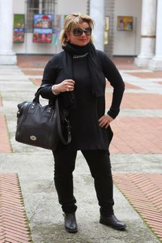 i love shopping: Total black