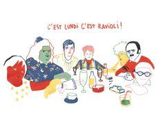 ravioli lundi - Camille de Cussac