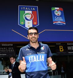 Gianluigi Buffon of Italy pose for a photo at Casa Azzurri on June 9, 2016 in Montpellier, France.