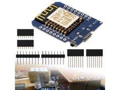 Una breve descrizione di XCSOURCE ESP8266 D1 Mini NodeMcu Lua WiFi Wireless Module, una mini board open source per sviluppare applicazioni WiFi e per l'Internet delle Cose con Arduino.