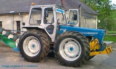 If ever I needed a tractor, it would have to be one of these Ford County. Looks like proper tractor.