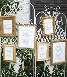 To hang old wedding pictures such as grandparents, great grandparents etc. to display at your wedding.