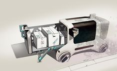 AUTONOMOUS DELIVERY VEHICLE by Sol You on Behance