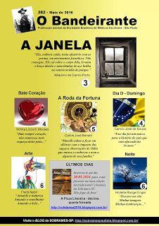 Sociedade Brasileira de Médicos Escritores: Chegou a edição de MAIO do jornal O BANDEIRANTE