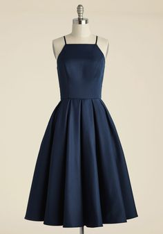 Beloved and Beyond Midi Dress in Navy, #ModCloth