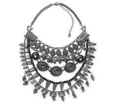 Statement necklace, Zara