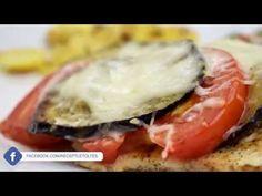 Plusziusz (csirkemell padlizsánnal, paradicsommal, mozzarellával sütve) - Az én alapszakácskönyvem - YouTube Mozzarella, Pork, Meat, Chicken, Youtube, Kale Stir Fry, Pork Chops, Youtubers, Youtube Movies