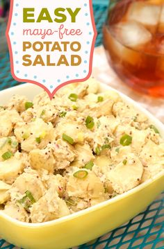 This mayo-free recipe for potato salad is perfect for vegans and vegetarians.