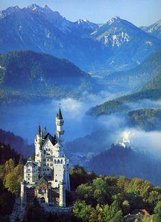 Neuschwanstein Castle, Germany - The stuff of fairy tales