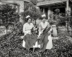 Children's Hospital in Washington, D.C., circa 1919. http://www.shorpy.com/node/21221 National Photo #oldphotos #oldpics