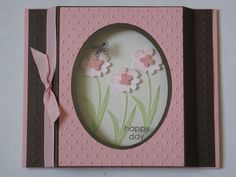 Narelle Hodges-Independent Stampin' Up!® Demonstrator: Customer Creation - Shadow Box Card