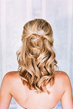 Engagement photo hairstyle ideas