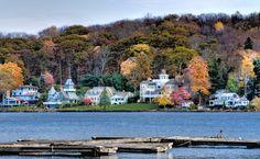 Bantam Lake, Litchfield, Connecticut, USA.