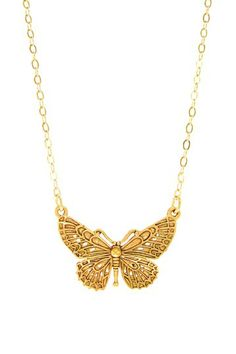 Jami Rodriguez Butterfly Pendant Necklace by Jami Rodriguez on @HauteLook