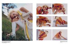 Re-Edition No.4 SS 2016  Photographer: Clara Balzary  Stylist: Emma Alix Wyman  Makeup: John Mckay  Hair: Ramsell Martinez  Model: Harleth Kuusik