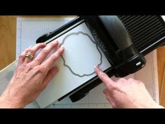 How to Emboss Using the Framelits and Big Shot Die Cutting Machine - YouTube