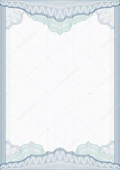 d026d274dfbe29 Класичний Гільошіровке кордону для диплом або сертифікат. вектор. A4 —  стокова ілюстрація #5333690