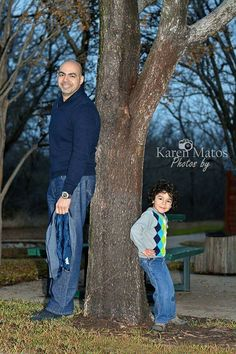 Daddy and his little man! Great family photo session.  Copyright Photos by Karen Matos