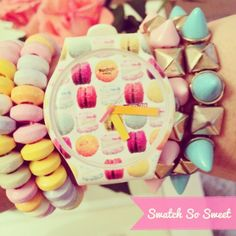#Swatch- macaroon watch