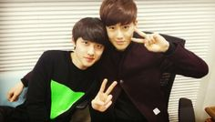 140109 MBC Younha's Starry Night Radio - EXO's Suho and D.O (RAW)