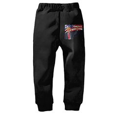 PliPaLa Amherst College Children's Workout Pants Black Size 5-6 Toddler >>> Find out more about the great product at the image link.