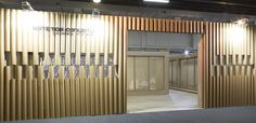 Paper Clinic booth at Beauty Fair 2014 by WeNew Innovation, São Paulo   Brazil trade fairs recyclable cardboard
