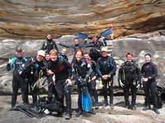 Learning how to run club dives out at Kurnell National Park... Check em out! lol.... Way tooo much fun i think!