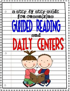 Guide to organizing daily center rotations. I like this set-up the best I think - guided reading is included as a center, and the kids have little clip-on name tags with them that tell them where to go. Guided Reading Groups, Reading Centers, Reading Lessons, Reading Workshop, Reading Resources, Reading Strategies, Reading Activities, Reading Comprehension, Literacy Centers