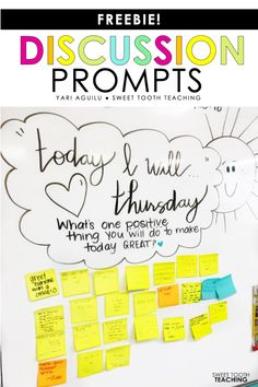 Do you have morning meetings in your class? These FREE discussion prompts will help start conversations in your classroom and build classroom community! Classroom Discipline, Classroom Behavior, Future Classroom, Classroom Management, Classroom Meeting, Class Meetings, Morning Meetings, Morning Work, Teacher Blogs