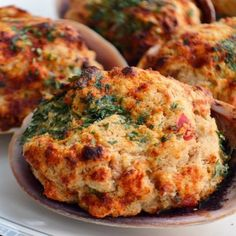 Stuffed Clams Recipe - Yankee Magazine Seafood Appetizers Seafood Appetizers Appetizers Appetizers for a crowd Appetizers parties Appetizers For A Crowd, Seafood Appetizers, Appetizer Recipes, Baked Clams Recipe, Baked Shrimp, Baked Cod, Baked Fish, Fish Dishes, Seafood Dishes