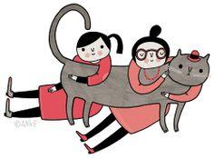 ilustración de Anke Weckmann