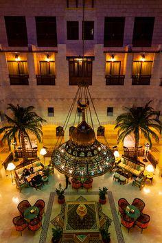 Interior view, Movenpick Resort Petra, Petra, Jordan.