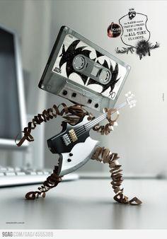 Classic rock radio station ad - I love it!
