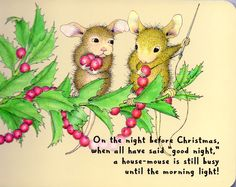 House Mouse Christmas page 11.