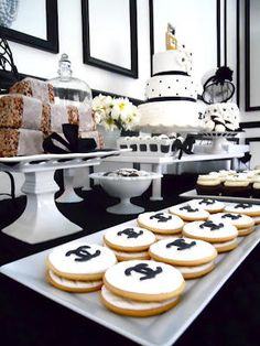 Chanel Inspired Birthday Party | LUUUX