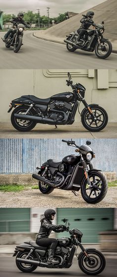 Take on traffic in style. #HDStreet 750 & 500. | Harley-Davidson #DarkCustom