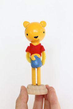 Straight from the hundred acre wood himself--its Winnie the Pooh!    This is an Etsy original found exclusively at Left on Lynna Lane.  All