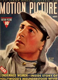 Gary Cooper - Motion Picture, Aug.