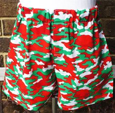 $10.99 USD Children Christmas Camo cotton Boy Boxers Boy by restintheword