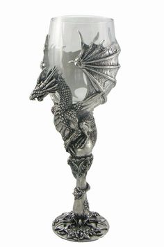 The dragon is cheesy, but this attuned me to the idea of an asymmetrical chalice icon. Dragon Glass, Dragon Art, Fantasy Dragon, Fantasy Art, Dragons, Dragon Pictures, Dragon Pics, Dragon's Lair, Wine Goblets