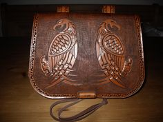 Viking Pouch Handmade by me