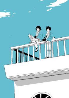 Ritsu Sakuma, Ensemble Stars, Mystic Messenger, Manga, Black Hair, Anime, Animation, Fan Art, Illustration