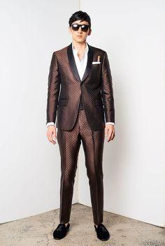 David Hart New York Fashion Week Men's Spring Summer 2018 - Sagaboi - Look 4