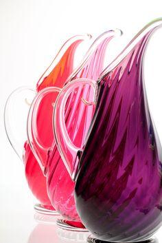 Roxy Pitcher  Orbix Hot Glass $265.00